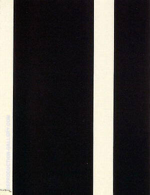 Thirteenth Station 1965-66 Painting By Barnett Newman