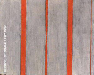 The Name I 1949 By Barnett Newman - Oil Paintings & Art Reproductions - Reproduction Gallery