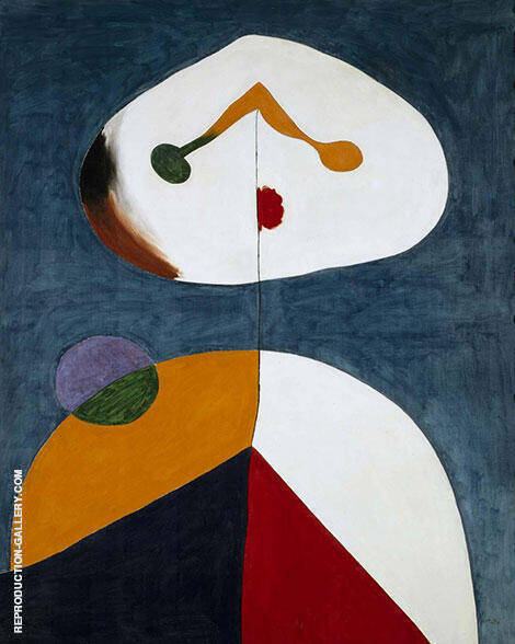 Portrait 1938 Retrato By Joan Miro - Oil Paintings & Art Reproductions - Reproduction Gallery