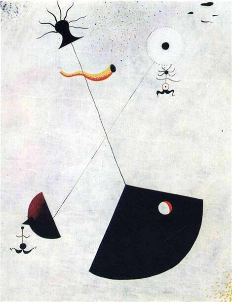 Maternity 1924 By Joan Miro
