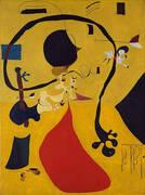 Dutch Interior III 1928 By Joan Miro