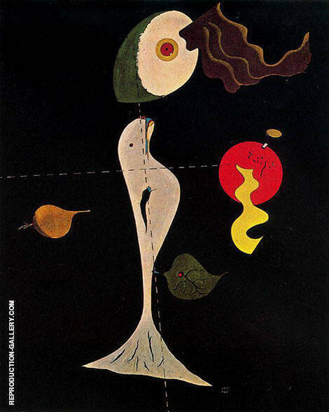 Nude 1926 By Joan Miro Replica Paintings on Canvas - Reproduction Gallery