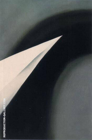 Black and White Abstraction 1950 By Georgia O'Keeffe