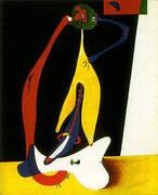 Seated Woman 1932 By Joan Miro