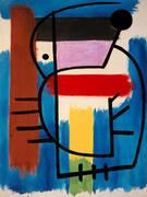 Seated Woman 1931 By Joan Miro