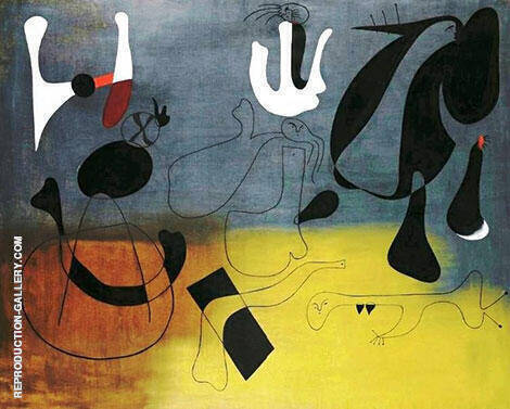 Painting A 1933 By Joan Miro Replica Paintings on Canvas - Reproduction Gallery
