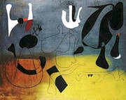 Painting A 1933 By Joan Miro