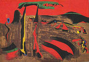 Figures in Front of Nature 1935 By Joan Miro