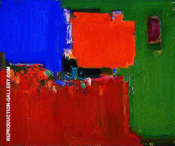 Indian Summer 1959 By Hans Hofmann - Oil Paintings & Art Reproductions - Reproduction Gallery