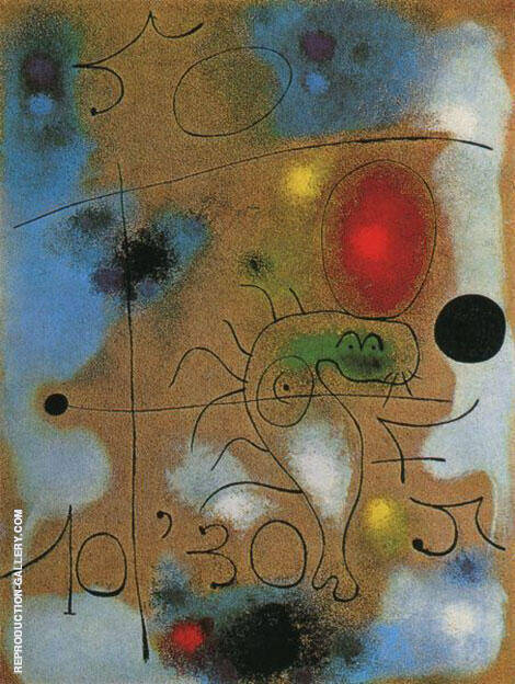 Reproduction of The Circus 1937 by Joan Miro | Oil Painting Replica On CanvasReproduction Gallery