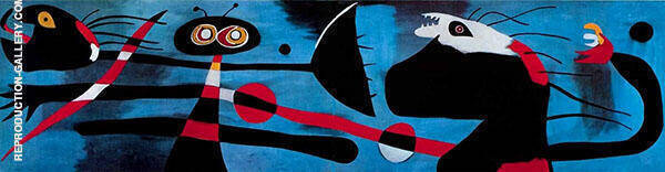 Decoration of a Nursery 1938 By Joan Miro Replica Paintings on Canvas - Reproduction Gallery
