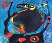 Head of a Woman 1938 By Joan Miro
