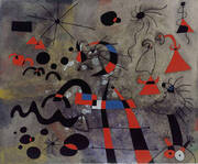 The Escape Ladder 1940 By Joan Miro