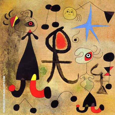 Hope 1946 By Joan Miro Replica Paintings on Canvas - Reproduction Gallery