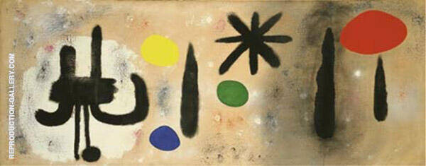 Painting 1952 By Joan Miro
