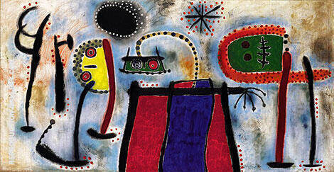 Painting 1953 Painting By Joan Miro - Reproduction Gallery