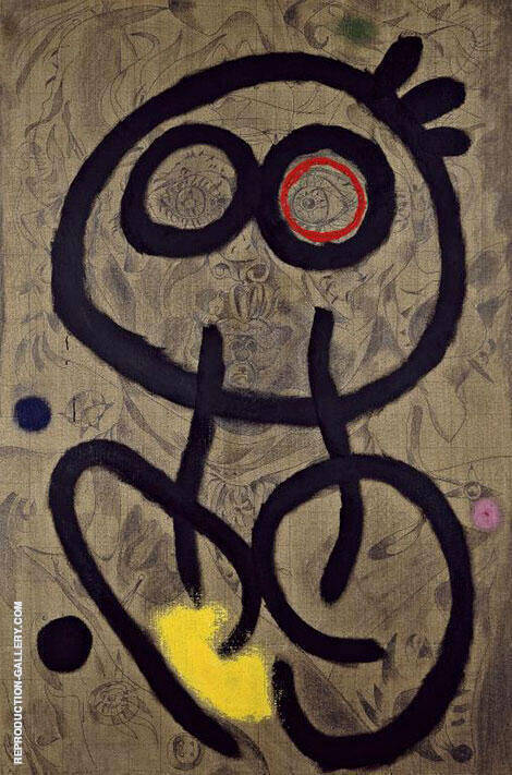 Self-Portrait 1937 By Joan Miro Replica Paintings on Canvas - Reproduction Gallery