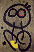 Self-Portrait 1937 By Joan Miro