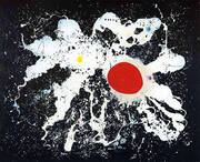 The Red Disk 1960 By Joan Miro