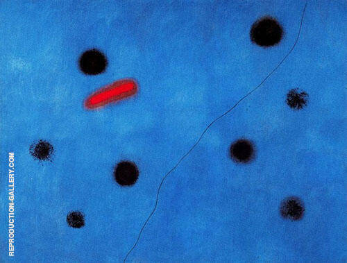 Blue I 1961 By Joan Miro Replica Paintings on Canvas - Reproduction Gallery