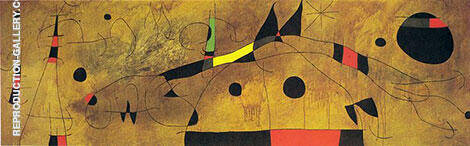 Mural Painting 1961 By Joan Miro