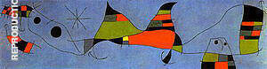 For Emili Fernandez Miro 1961 Painting By Joan Miro - Reproduction Gallery