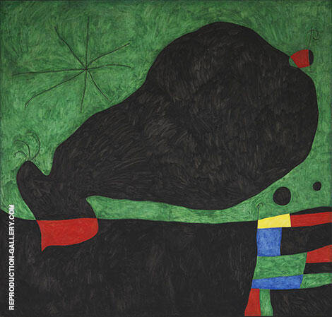 Message from a Friend 1964 By Joan Miro Replica Paintings on Canvas - Reproduction Gallery