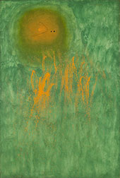 Hair Pursued by 2 Planets 1968 By Joan Miro