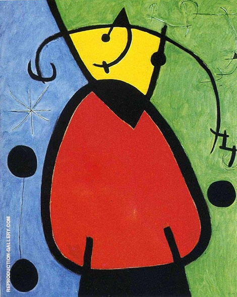 Reproduction of The Birth of Day 1968 by Joan Miro | Oil Painting Replica On CanvasReproduction Gallery