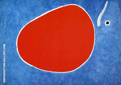 The Flight of the Dragonfly in Front of the Sun 1968 Painting By Joan Miro