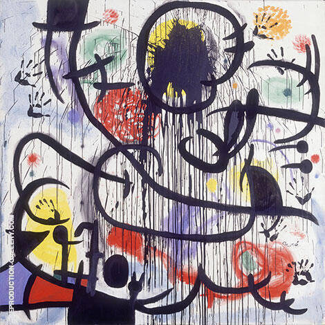 May 1968 1973 Painting By Joan Miro - Reproduction Gallery