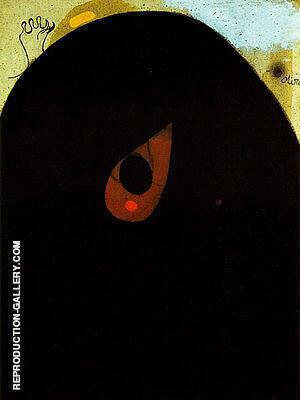 Head 1974 By Joan Miro