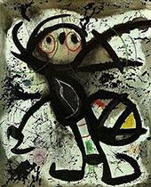 Woman 1976 A By Joan Miro