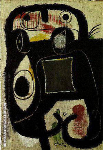 Woman 1976 By Joan Miro Replica Paintings on Canvas - Reproduction Gallery