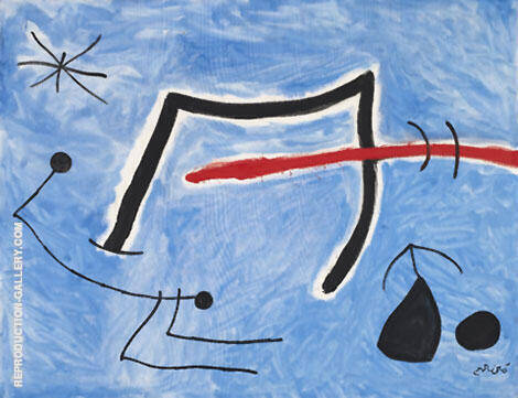 Personages Birds Star 1978 By Joan Miro