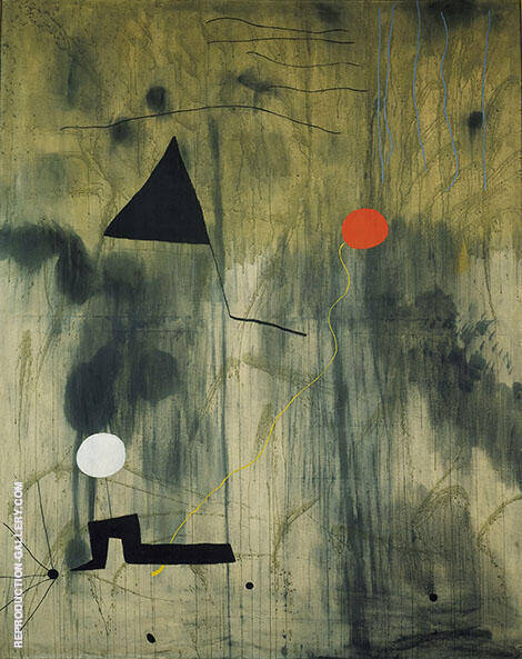 Birth of the World 1925 By Joan Miro