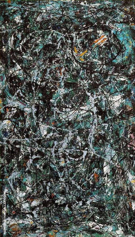 Full Fathom Five 1947 By Jackson Pollock