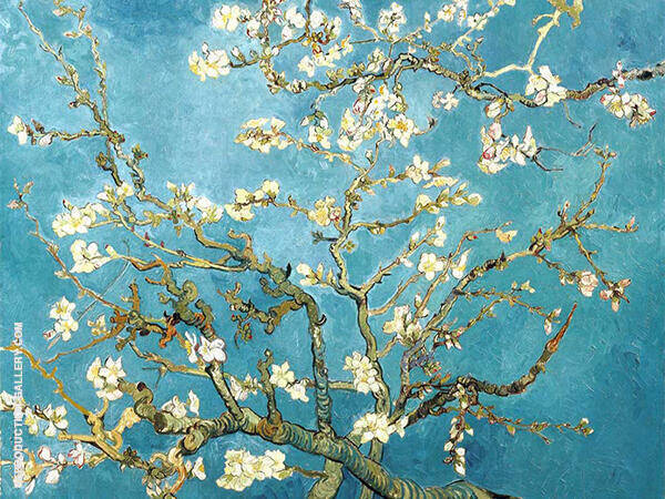 Branches with Almond Blossom 1890 Painting By Vincent van Gogh
