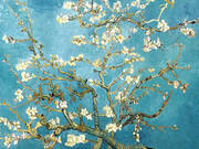 Branches with Almond Blossom 1890 By Vincent van Gogh