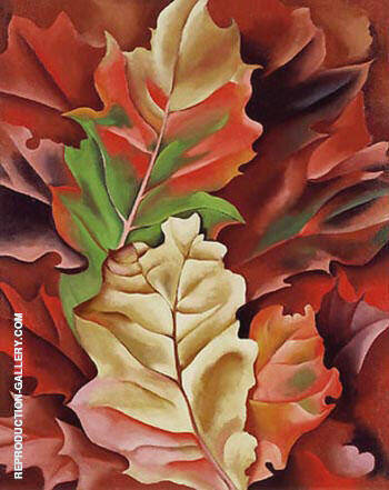 Autumn Leaves By Georgia O'Keeffe - Oil Paintings & Art Reproductions - Reproduction Gallery