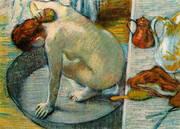 The Tub 1886 By Edgar Degas