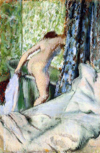 Bain du Matin Morning Bath 1883 By Edgar Degas