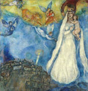 Madonna of the Village By Marc Chagall