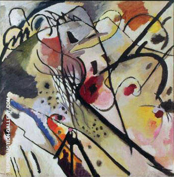 Improvisation 23 1911 By Wassily Kandinsky - Oil Paintings & Art Reproductions - Reproduction Gallery