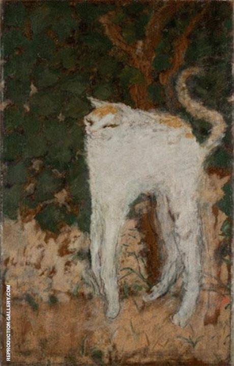 Le Chat Blanc 1894 By Pierre Bonnard