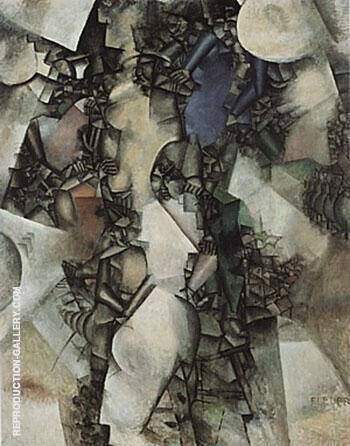 The Wedding 1910 By Fernand Leger
