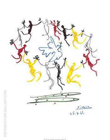 Dance of Youth By Pablo Picasso