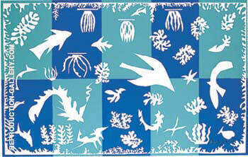 Polynesia The Sea By Henri Matisse