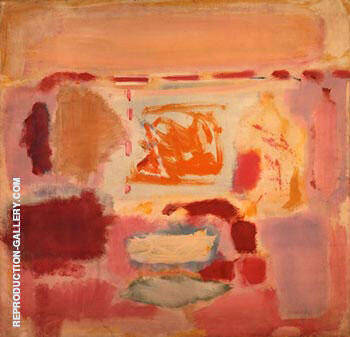 Untitled 1948 By Mark Rothko Replica Paintings on Canvas - Reproduction Gallery