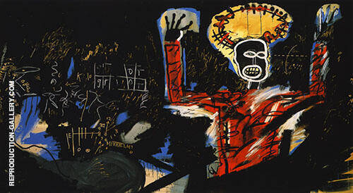 Profit 1 Painting By Jean-Michel-Basquiat - Reproduction Gallery